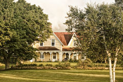 Country Farm House Stock Image