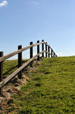 Country Fence Stock Photography