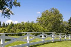 Country Fence Stock Photo