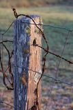 Country Fence Post Stock Images