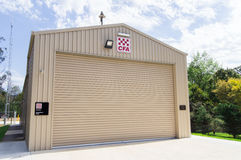 Country Fire Authority station in Buxton Stock Photos