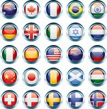 Country Flag Icons vector illustration