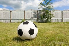 Country football Royalty Free Stock Photography