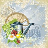 Country garden attributes Royalty Free Stock Images