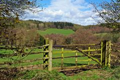 Country gate Stock Photos