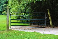 Country Gate Stock Images