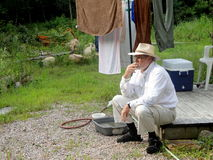 Country gentleman. Royalty Free Stock Image