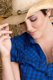 Country Girl Royalty Free Stock Photos