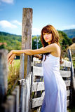 Country girl Royalty Free Stock Photos