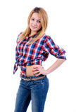 Country girl Royalty Free Stock Photo