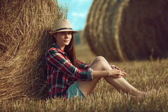 Country girl Stock Photos