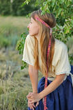 Country Girl Retro Stock Images