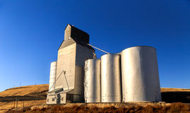 Country Grain Elevator Royalty Free Stock Photography