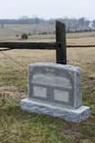 Country Grave Stock Photography
