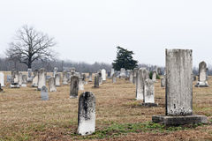Country Graveyard Royalty Free Stock Photography