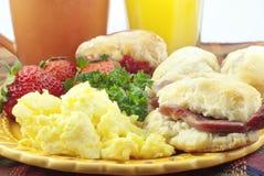 Free Country Ham Breakfast Royalty Free Stock Photo - 17911195