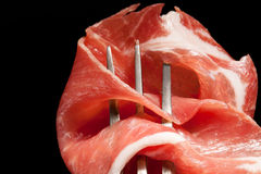 Country ham  detail. Royalty Free Stock Image