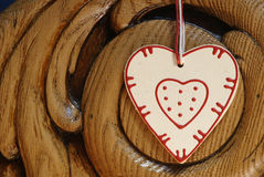 Country heart Royalty Free Stock Photos