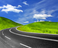 Country highway Royalty Free Stock Image