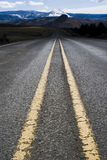 A country highway Stock Photo