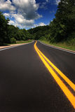Country Highway Royalty Free Stock Photos