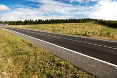 Country Highway at the Galicia Royalty Free Stock Photo