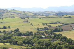 Free Country Hills Landscape In Marche, Italy Royalty Free Stock Photography - 96461387