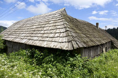Country historically wooden Buiding in Nature, Slovakia Royalty Free Stock Photo