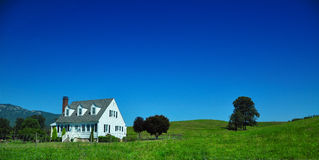 Country home. West Virginia country home on a blue sky Royalty Free Stock Photography