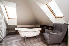 Country home - bathroom interior royalty free stock photos