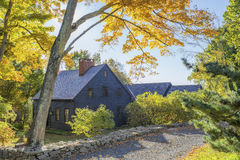 Country Home, Fall Stock Photos