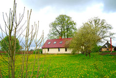 Country home Royalty Free Stock Photo