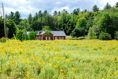Country Home in the Mountains Royalty Free Stock Images