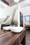 Country home - stylish washbasin Stock Photos