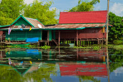 Country Home of Thailand Royalty Free Stock Images