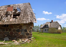 Country Homestead. Royalty Free Stock Photos