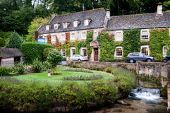 Country Hotel in rural England Royalty Free Stock Photos
