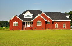 Country house. A colorful and picturesque country house in Virginia Royalty Free Stock Photos