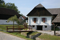 Country house. Old country house in central Europe -Croatia Royalty Free Stock Photography