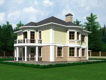 Country house Royalty Free Stock Image