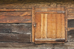 Country house. Details window of country house Royalty Free Stock Photos