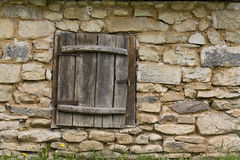Country house. Details window of country house Stock Photography
