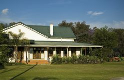 Country House. Exterior view of a country home Stock Photography