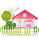Country house Royalty Free Stock Photos