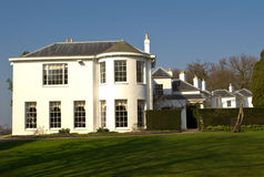 Country house. Aristocratic country house in England Stock Images