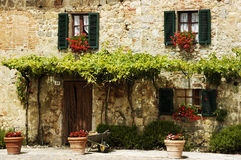 Country House. Beautiful country house in a small town in central Italy Royalty Free Stock Photography