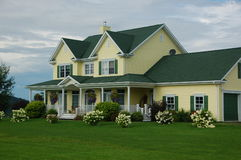 Country house. In the eastern townships, Canada royalty free stock images