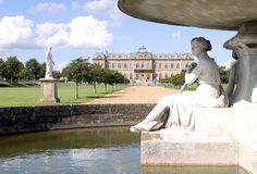Country House. Wrest Park Gardens Stock Photo
