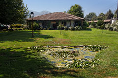 Country House in Chile Colchagua Valley Stock Images