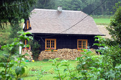 Country house in Czech Republic Stock Photos